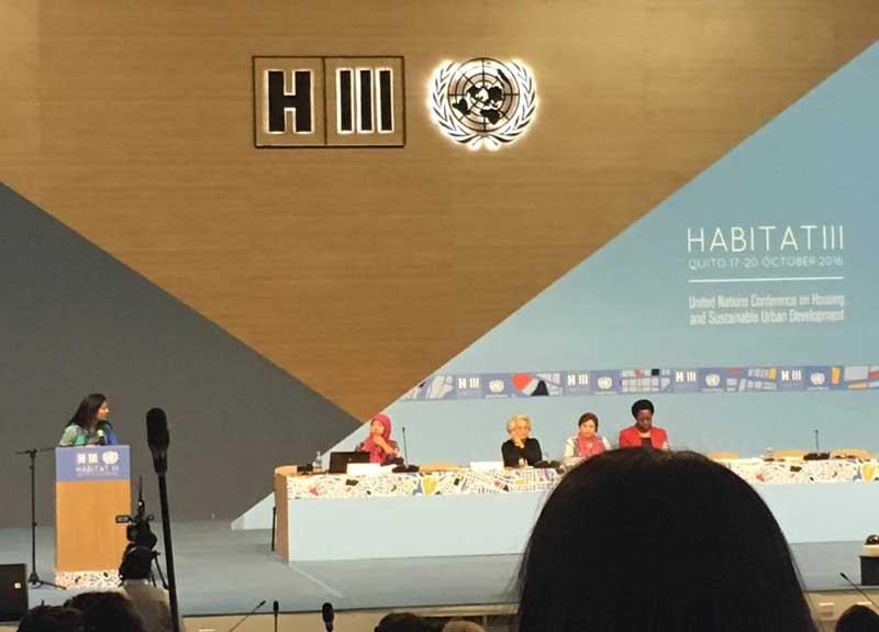 Habitat III, Quito 2016
